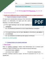 Séquence V-4  Numérisation de l'information