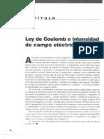 Capitulo 02 - Ley de Coulomb e Intensidad de Campo Eléctrico