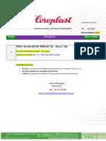 COTIZACION COROPLAST  CINTA DE AISLAR