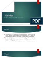 Robotica Morfología