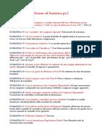 Domande a Crocette Esame Statistica Pt.2 - Copia2