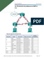 10.2.3.4 Lab - Troubleshooting Advanced Single-Area OSPFv2