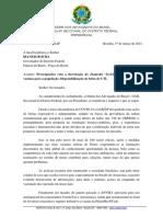 OAB-DF cobra de Ibaneis compra de vacinas contra Covid-19