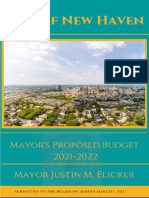 FY 2022 New Haven Mayors Budget Final