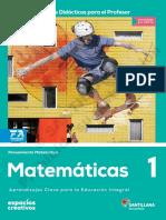 Matematicas 1 Docente