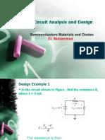 Electronic Circuit Analysis and Design-1
