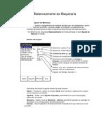Módulo de Balanceamento Da Maquinaria (1)