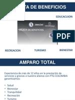 Presentacion Tarjeta de beneficios EXEQUIAL