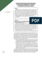 Evaluarea modificarilor morfopatologice in tesuturile parodontale la pacientii cu parodontite marginale cronice