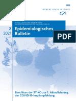 RKI - Epidemiologischen Bulletin - S. 27! - Wirksamkeit der Impfung nicht mehr statistisch signifikant