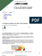 9 estrategias tecnológicas para 2009_ Cloud computing _ El caparazon