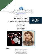 P.E Ion-Creanga-un Martisor Al Literaturii Romane