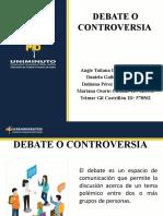 DEBATE O CONTROVERSIA!!