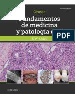 2018 Edward W Odell Cawson Fundamentos de Medicina y Patología Oral (1)