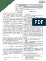 Decreto Supremo Que Aprueba El TUO del Código de Ejecución Penal - D.S. Nº 003-2021-JUS