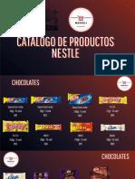 Catálogo de productos Nestlé