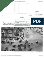 O que as pesquisas de 1964 mostram sobre apoio popular e golpe | Opinião | EL PAÍS Brasil