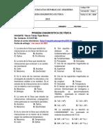 PRUEBA DIAGNOSTIVA FÍSICA GRADO 11 I.E REPUBLICA DE ARGENTINA 2021
