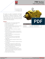 P80 Series Foam Concentrate Pump Description