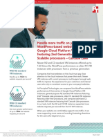 Handle more traffic on your WordPress-based websites with Google Cloud Platform VM instances featuring 2nd Generation Intel Xeon Scalable processors – Cascade Lake