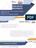 4.2.- Las Estrategias en Los Negocios Internacionales Schoology