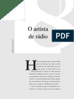 USP - O artista de rádio