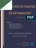 GESTION DE FUENTES DE INFORMACION