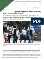 Clima en Lima_ se espera una temperatura mínima de 18°C, hoy lunes 1 de marzo, según Senamhi verano nndc _ LIMA _ PERU21