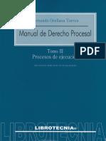 Manual de Derecho Procesal. Tomo 3 - Fernando Orellana Torres