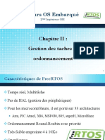 Chap2-FreeRtos Gestion Des Taches Et Ordonnencement