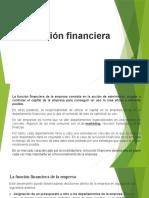 1.  Función financiera