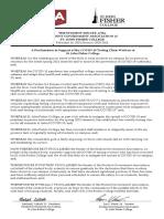 SGA Proclamation