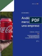 """3° I  ANÁLISIS DE EL MERCADO DE UNA EMPRESA """"THE COCA-COLA COMPANY"""" (1)"""