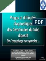 Diverticule Du Tube Digestif