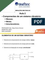 Aula 2 - Componentes sistema vibratório Caxias
