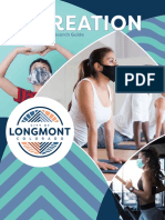 Longmont Recreation Spring 2021 Online Search Guide