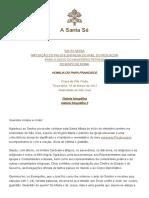 Homilia Inicio de Pontificado - Papa Francisco - 19-03-2013