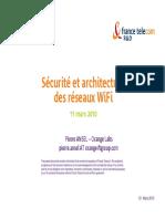 Ecurite Et Architecture Des Reseaux WiFi