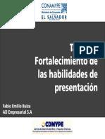 Presentación Taller de Fortalecimiento Para CDMYPE