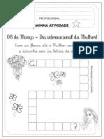 ATIVIDADE DIA DA MULHER - 2