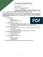 EXAMEN DE SUBSANACIÓN DE COMUNICACIÓN