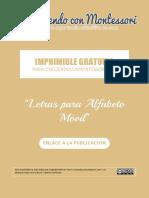 Imprimible - CCM - Letras Alfabeto Movil