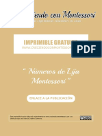 CCM - Números de Lija Montessori