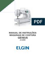 Manual de Instrucoes JX 4000