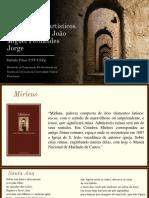 Diálogos interartísticos em Mirleos de João Miguel Fernandes Jorge