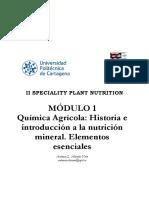1  Química agrícola