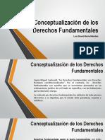 Conceptualización de los Derechos Fundamentales