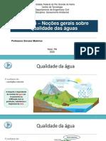 AULA04_SA_-_Noes_sobre_Qualidade_da_gua_-_Parte_1