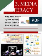 Unit-3 Media Literacy