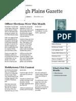 High Plains Gazette Vol 1